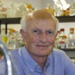 Prof. Michael Sheetz, Lasker Prize awardee in his lab at Columbia